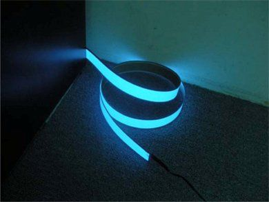 Electric light ribbon. Use this to keep yourself illuminated.