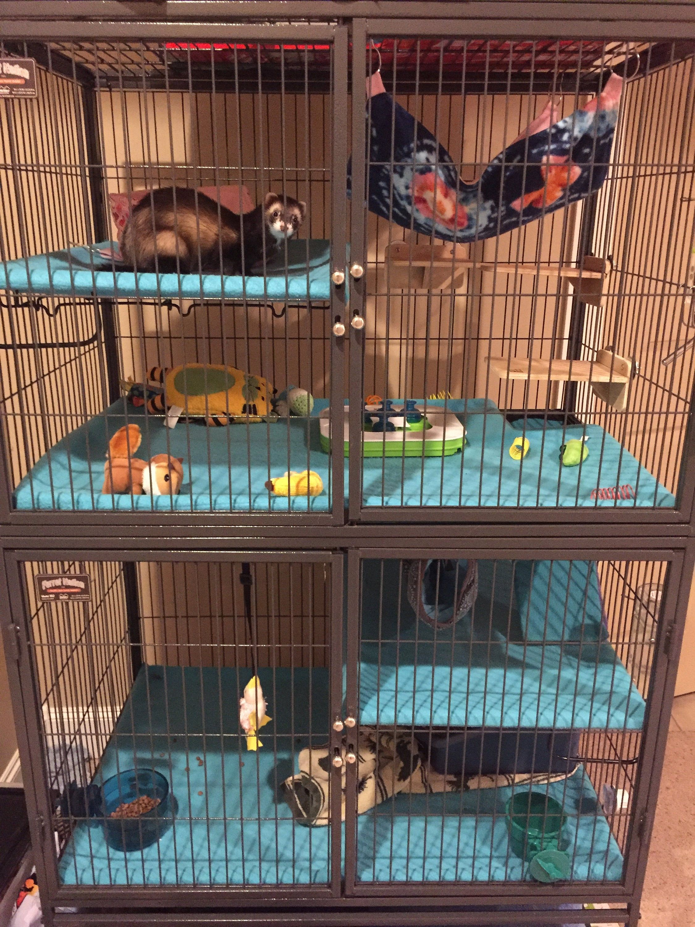 Custom Fleece Ferret Critter Nation Cage Liner For Ferrets Chinchillas Rats Etc In 2020 Critter Nation Cage Ferret Cage Ferret