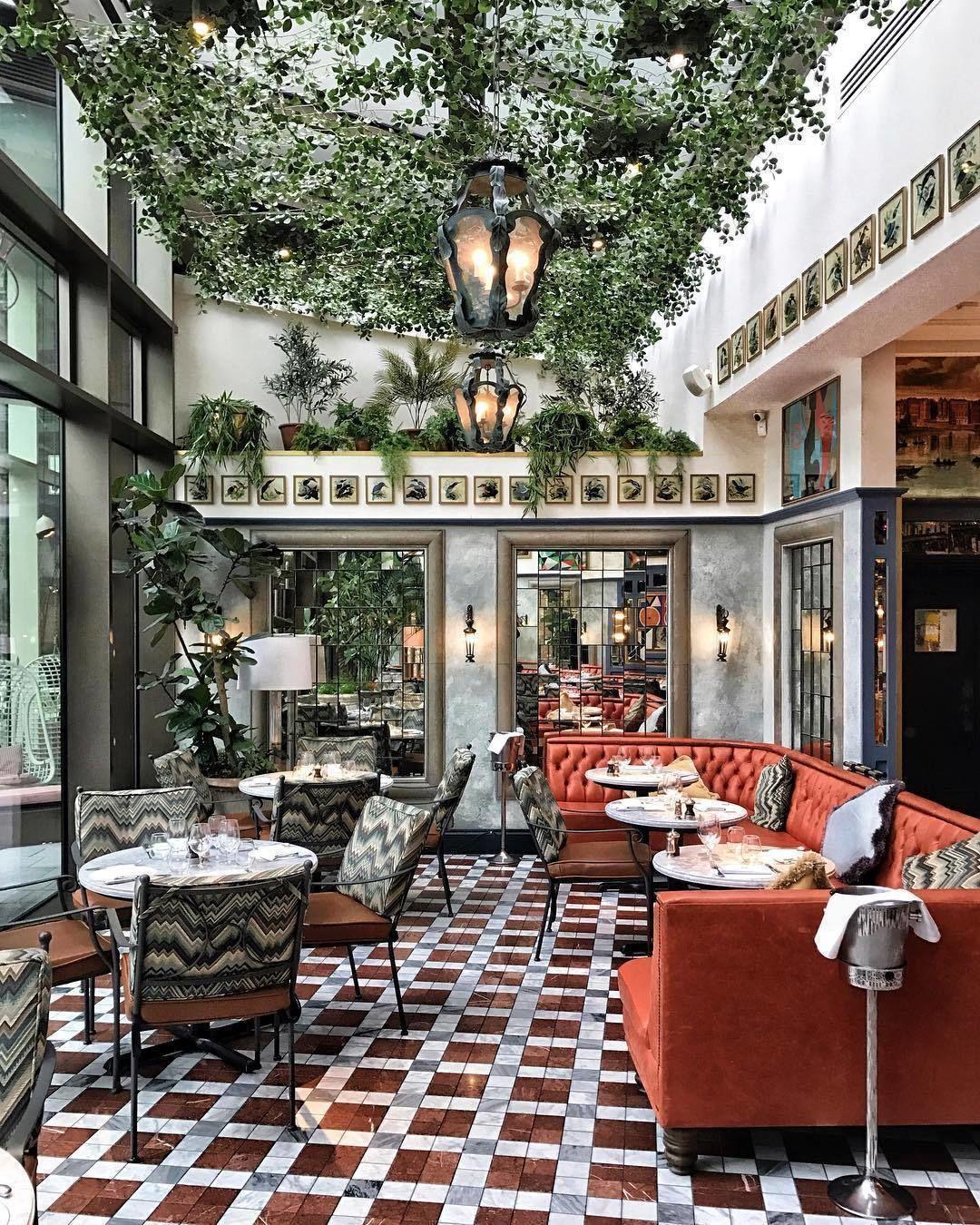 Chairish On Instagram Ivy Envy By Crazycatladyldn Bar Design Restaurant Restaurant Interior Design Cafe Design