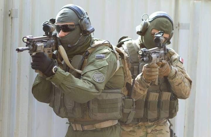 Polish Secret Service - The Government Protection Bureau (B.O.R.).
