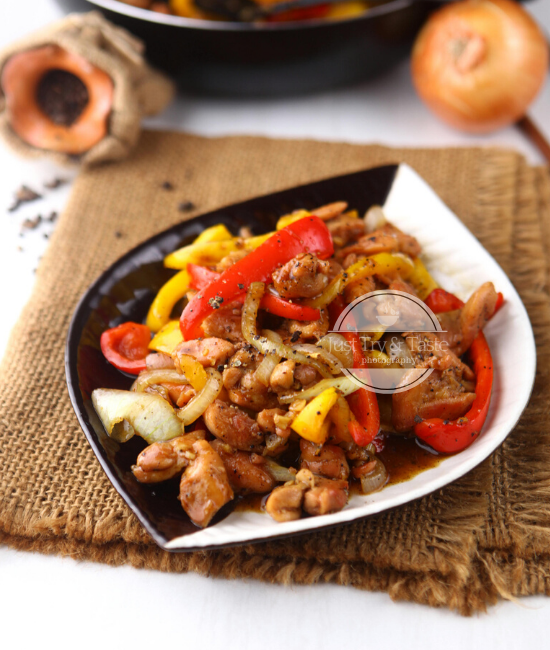 Resep Ayam Lada Hitam Jtt Resep Ayam Resep Masakan Asia Resep Makanan