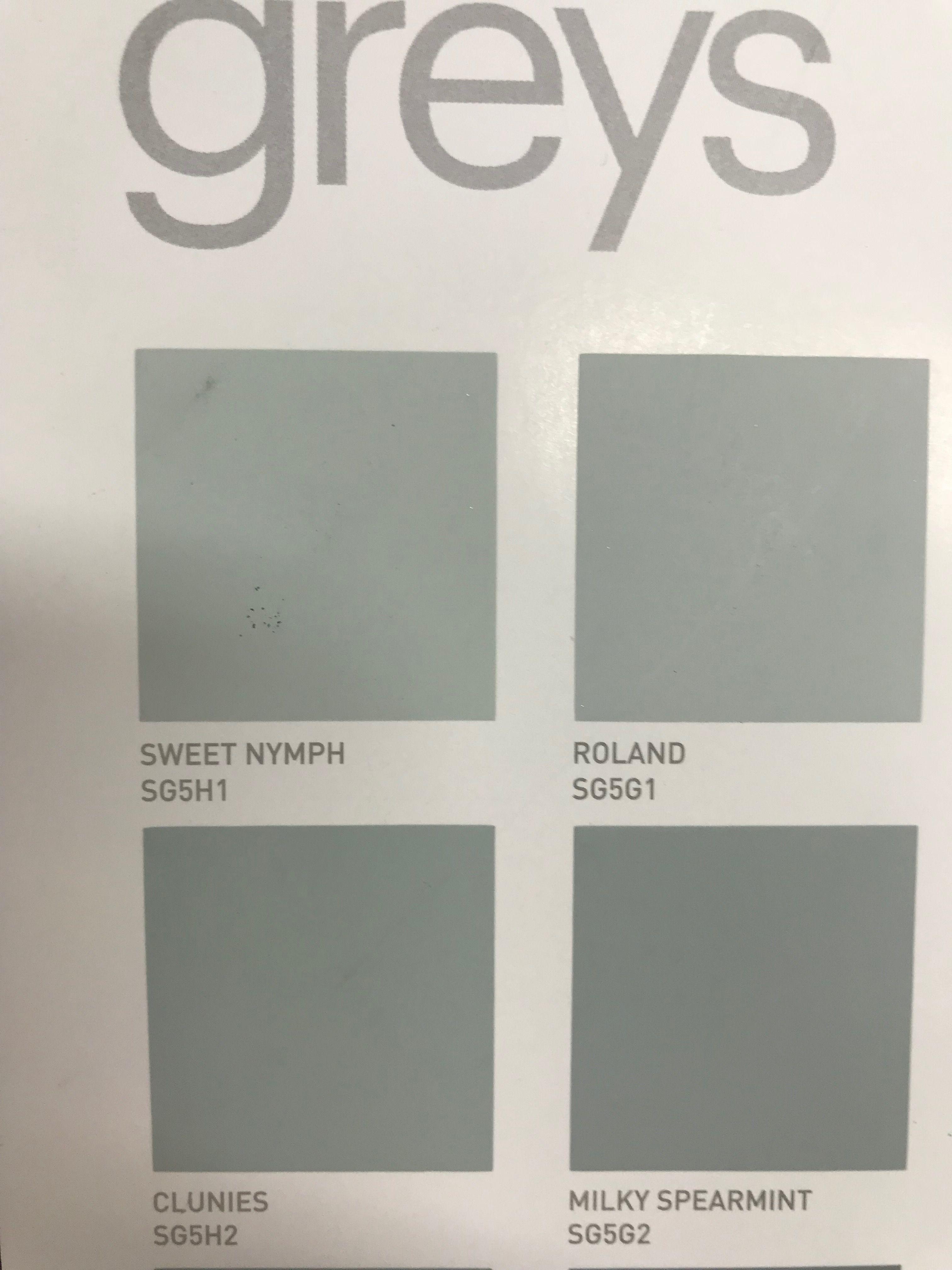 Dulux Roland Paint Colours In 2019 Paint Colors Colours Diagram