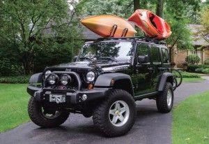 Jeep Kayak Rack Jeep Roof Rack Dot Com Kayak Rack Kayaking Jeep