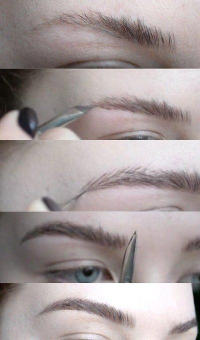 This Woman's Brow Tutorial Is Going Viral—and She Only Uses One Product #naturalbrows