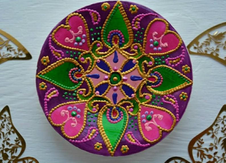 Ring Bowl Purple Jewelry Dish Jewelry Tray Jewelry Box Ring Holder Mandala Ring Dish Mandala lovers,Ring Box Trinket Dish Ring Plate