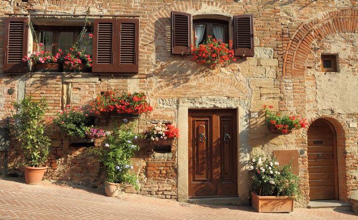 Shutters Casa Italiana Fachadas De Casas Casa Toscana