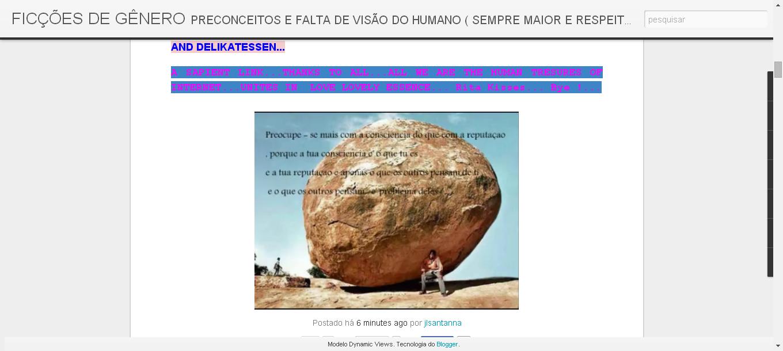 FICÇÕES DE GÊNERO