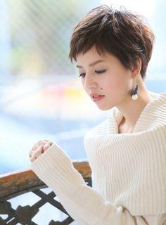 【ショートヘア】大人可愛いフレンチベリーショート/ARC+の髪型・ヘアスタイル・ヘアカタログ 2016春夏