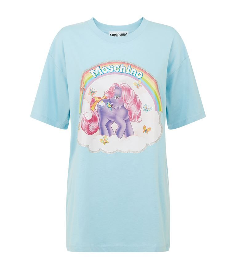 63dd431e21 MOSCHINO My Little Pony Oversized T-Shirt. #moschino #cloth ...