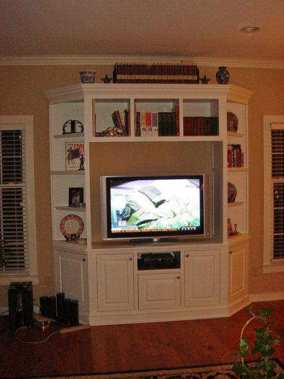 Entertainment Center (I Like The Corner Pieces)