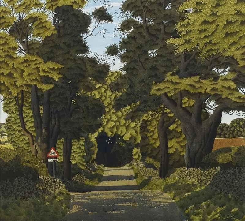 Warthermaske Simon Palmer Portland Gallery Landscape