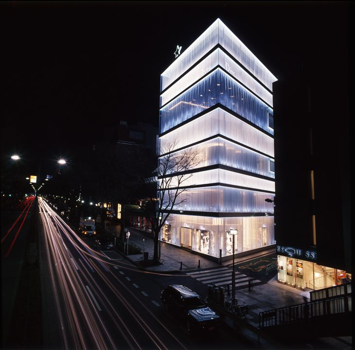 Christian dior omotesando building sanaa architects