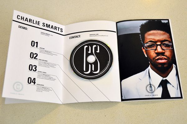 charlie smarts press kit by helen shaffer  via behance