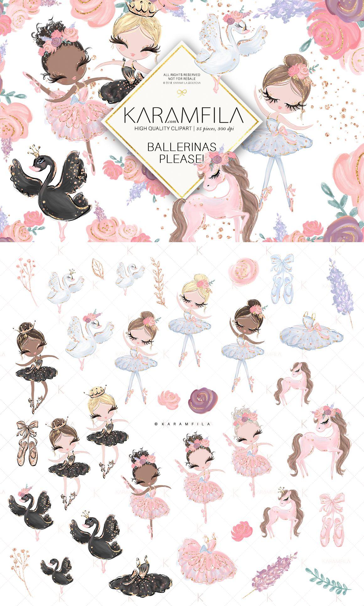 8f503f29a Ballerina Clipart