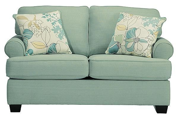 Shop For The Signature Design By Ashley Daystar   Seafoam Loveseat At  Olindeu0027s Furniture   Your Baton Rouge And Lafayette, Louisiana Furniture U0026  Mattress ...
