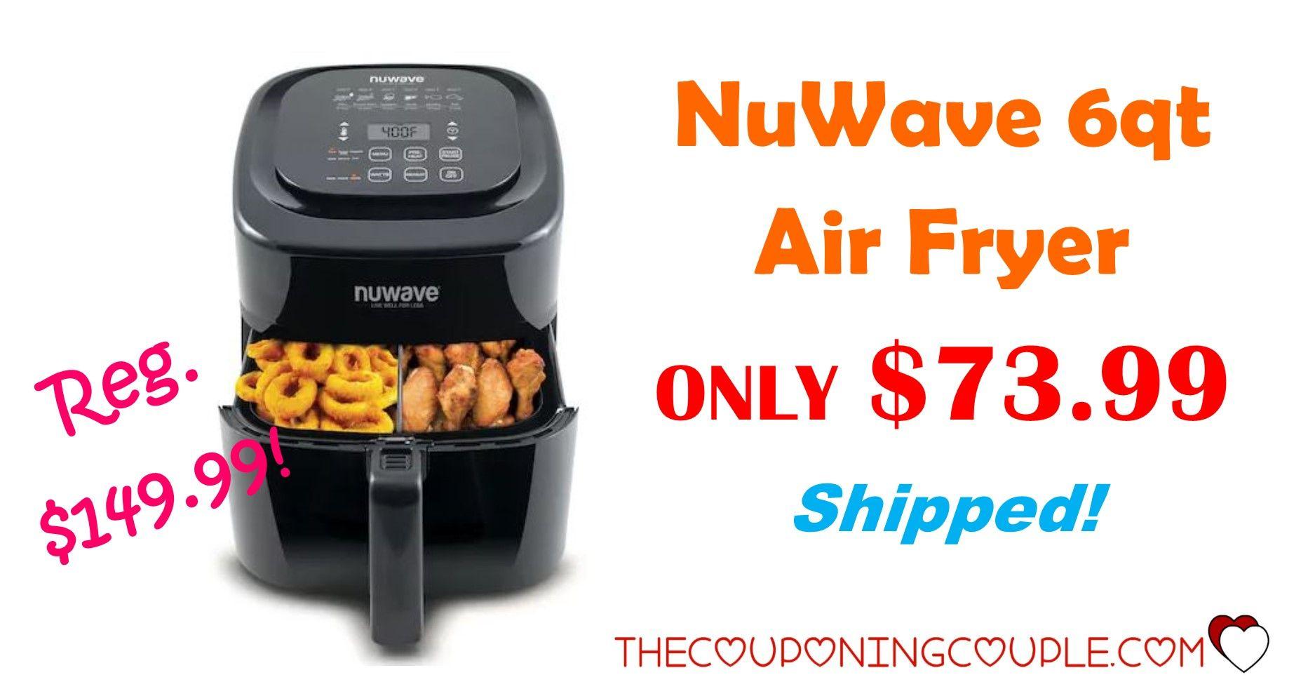 NuWave 6qt Air Fryer *GREAT DEAL* ONLY 40.99 (reg. 140