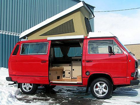 four-wheel drive vw synchro camper van in mint condition? i'll