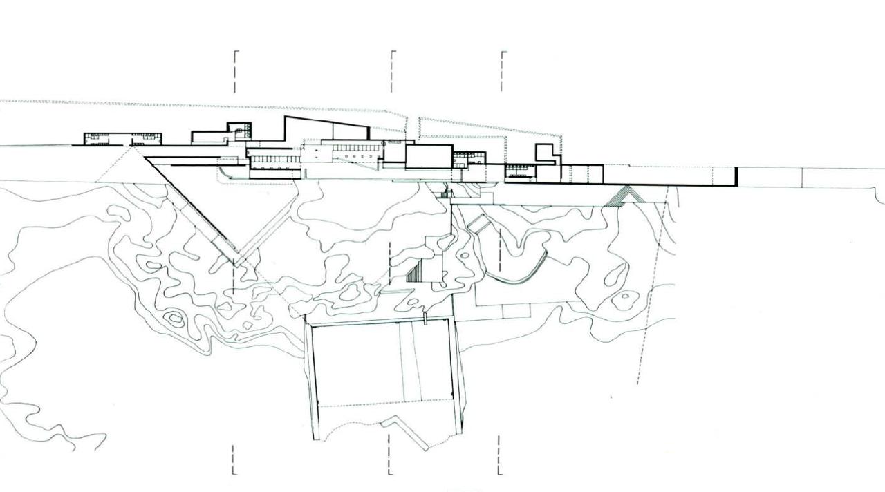 Plans Of Architecture Alvaro Siza Leca Swimming Pools 1966