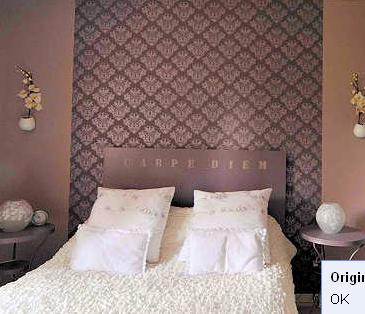 wallpaper headboard ideas - Google Search & wallpaper headboard ideas - Google Search | Bedroom | Pinterest ...