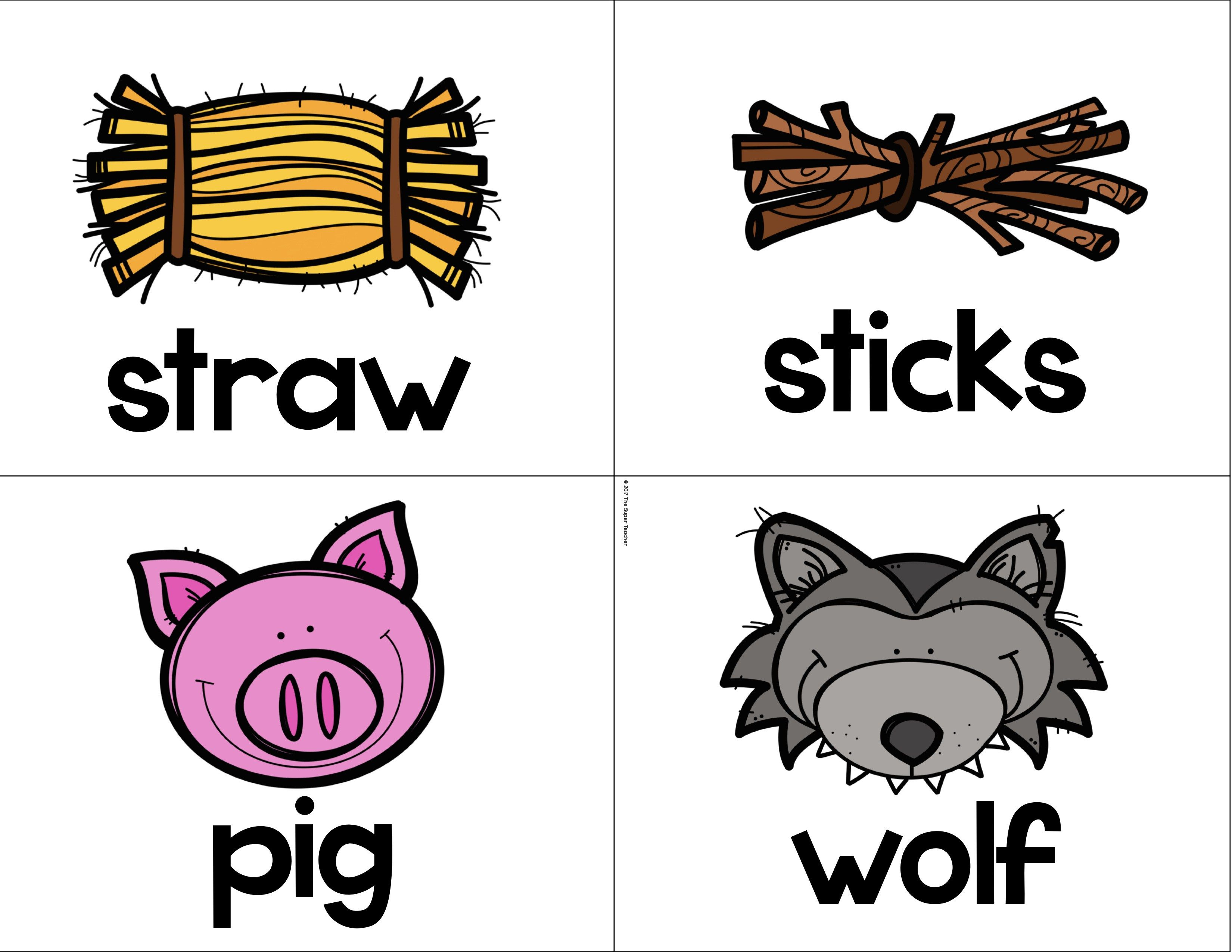 Simple Story Elements Made Practical And Fun The Three Little Pigs