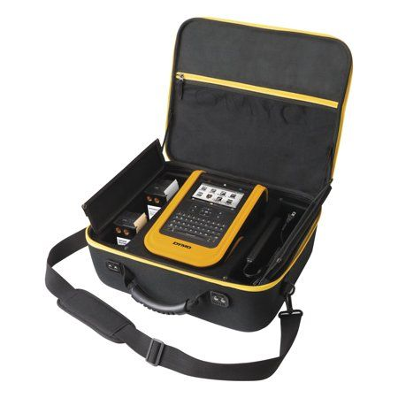 Dymo XTL 500 Industrial Label Maker Kit, 28mm/Second, 16 1