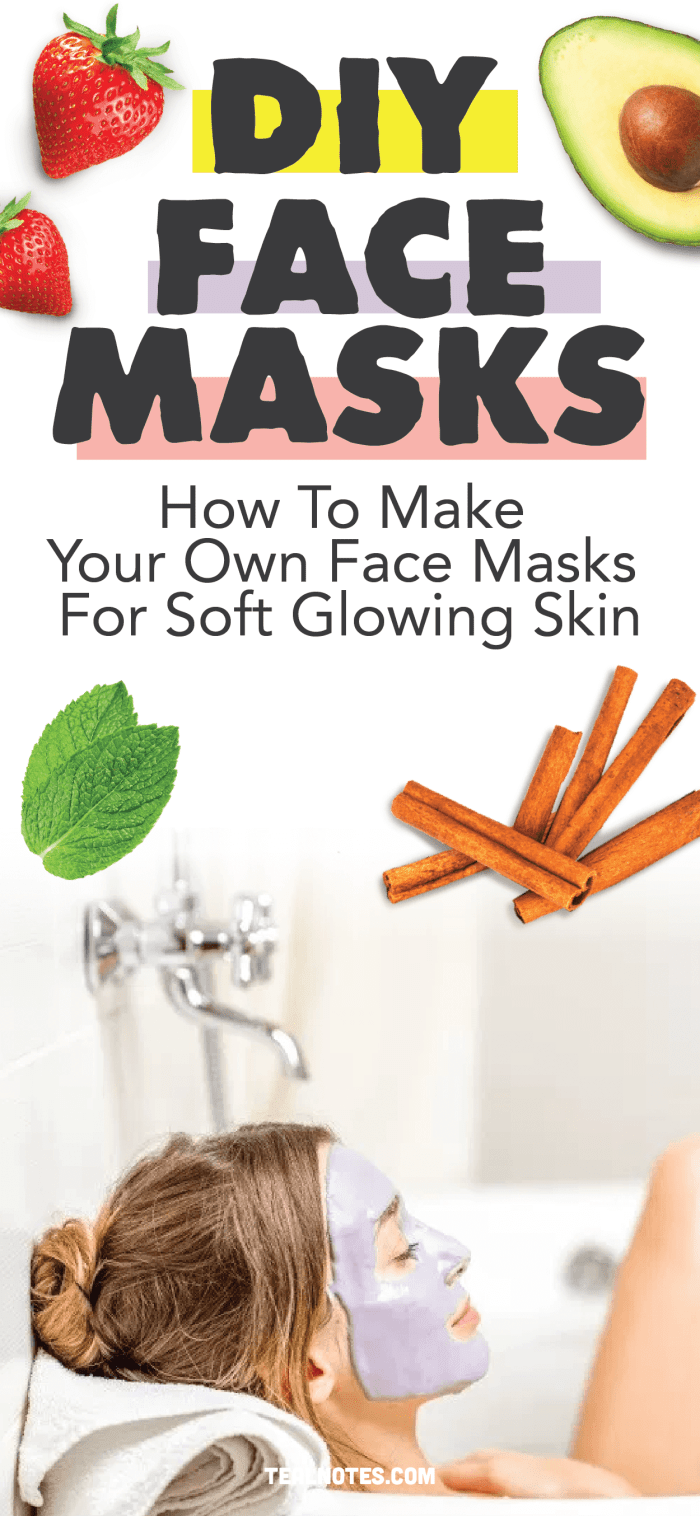 DIY Face Mask How To Make Your Own Face Masks For Soft