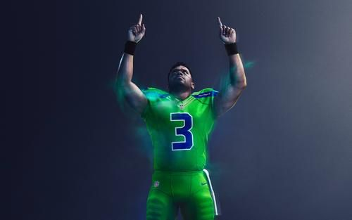 new style bbf73 15a98 NFL Color Rush: Seahawks Introduce Action Green Uniform ...
