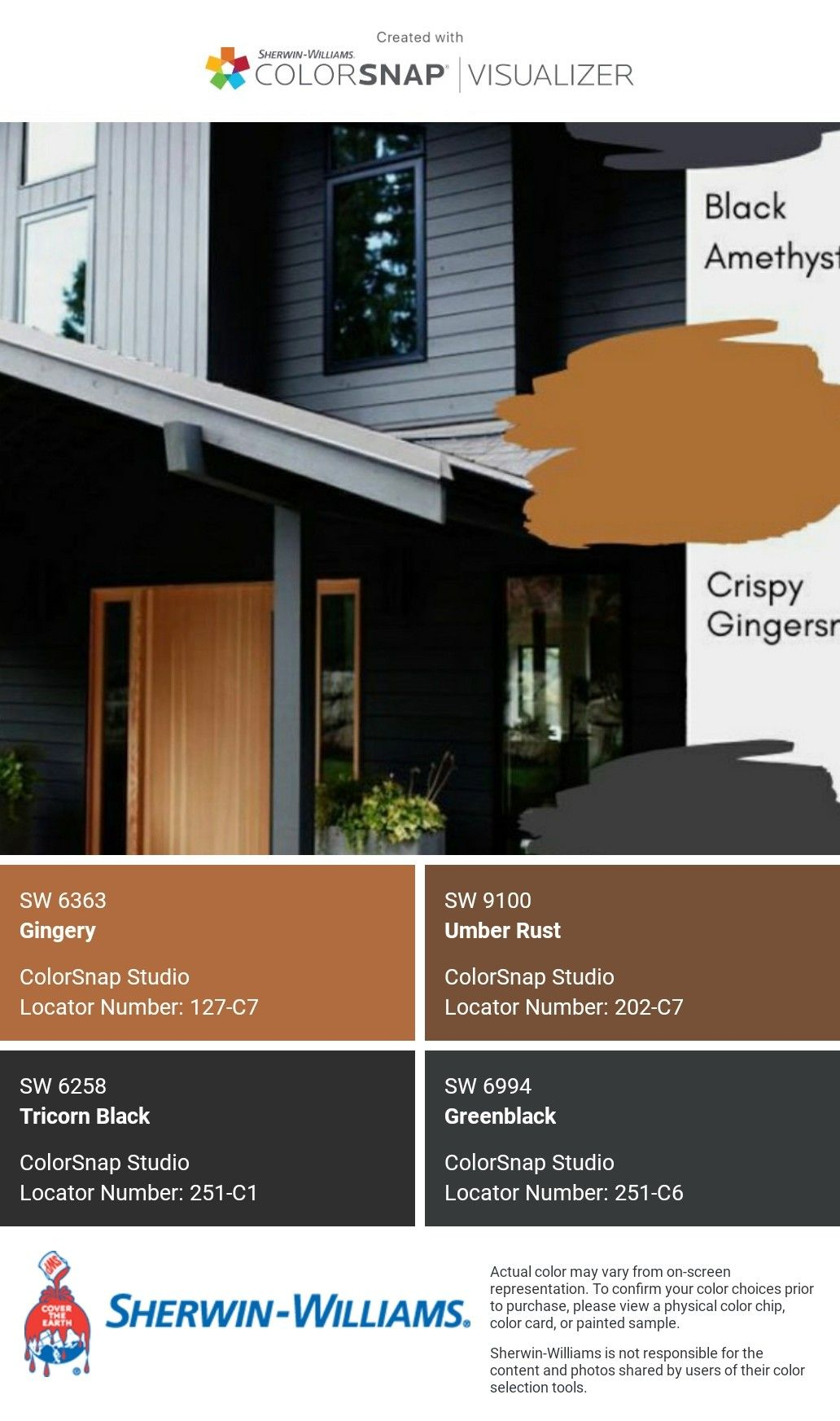 i just created this color palette with the sherwin on exterior house color combinations visualizer id=28485