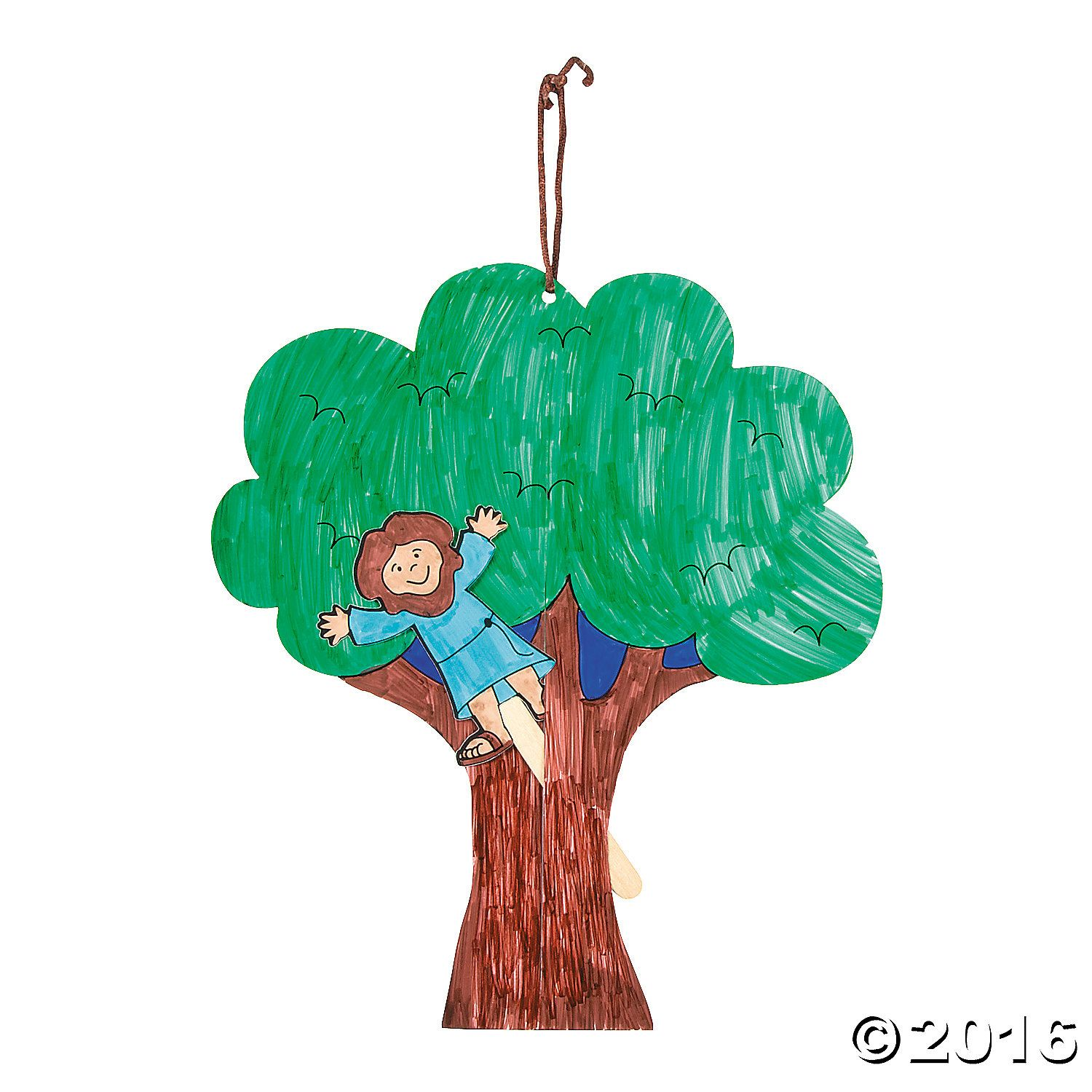 These Color Your Own Zacchaeus Pop-Up Puppets have everything a ...