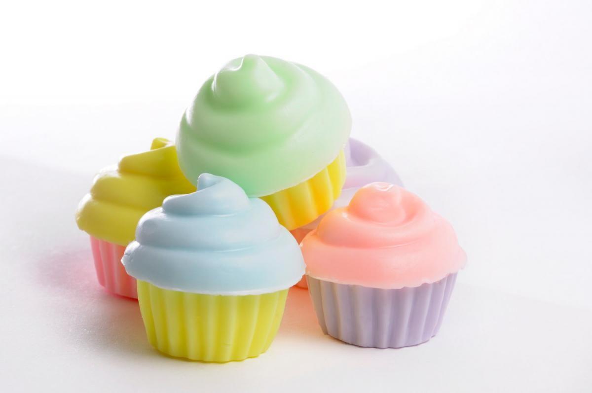 Mini Cupcake soap - 40 Party Favors