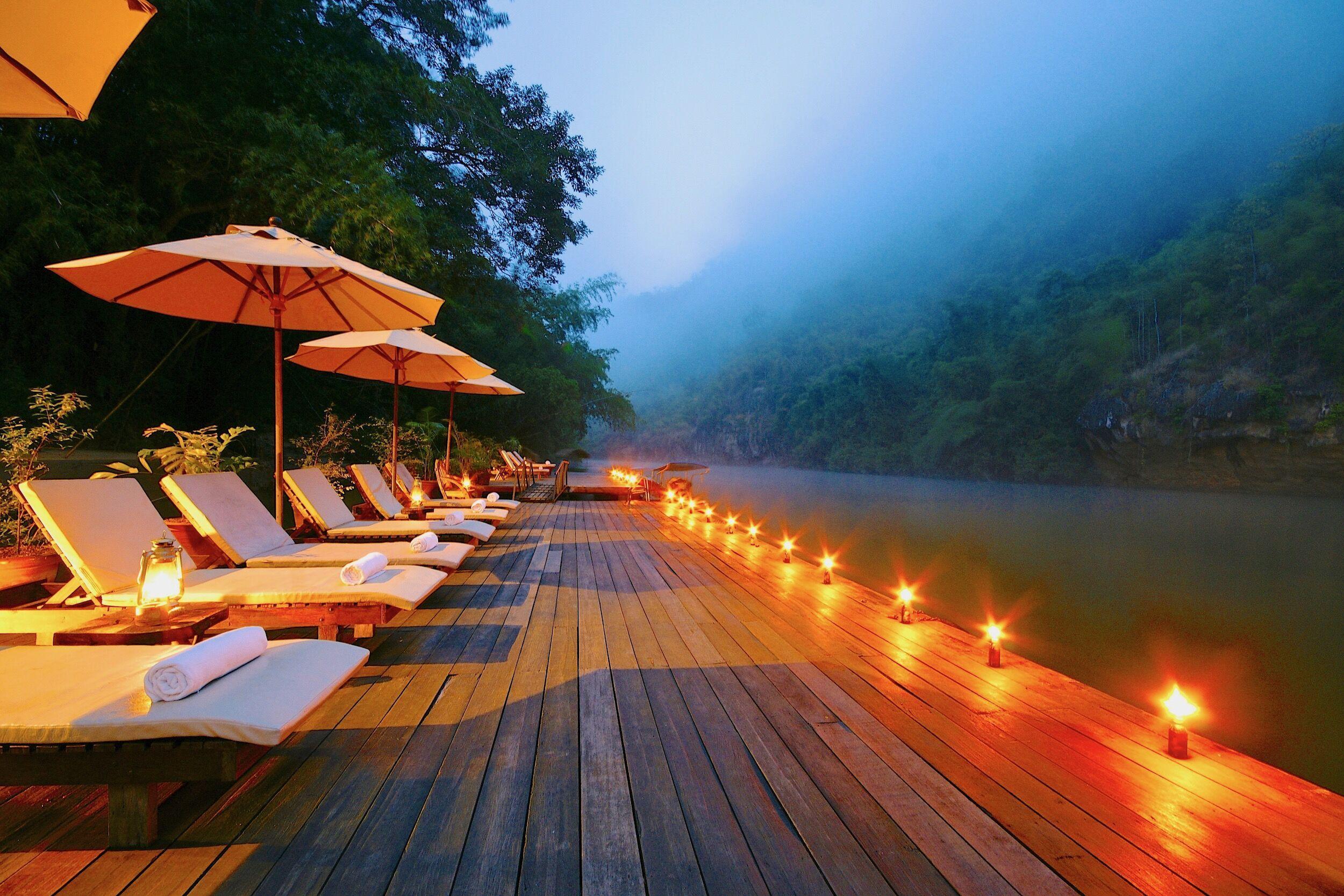 Relax with nature. Thailand Kanchanaburi Resort ในปี 2020