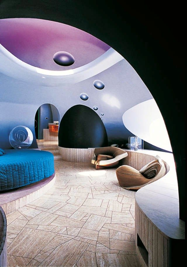 Larissa Carbone Arquitetura BUBBLE HOUSE, O Futurista Palácio de Bolhas