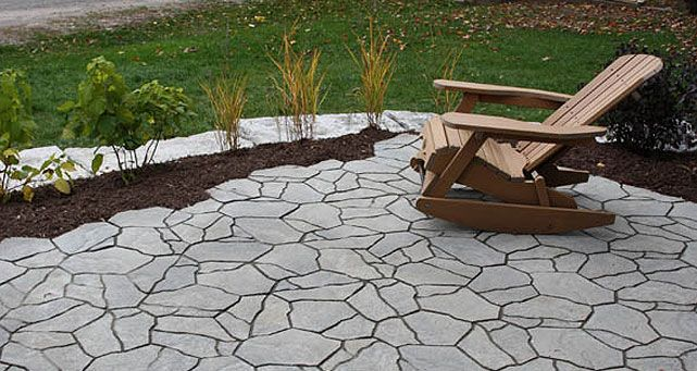 Harbour Stone is a unique interlocking paver that mimics look of