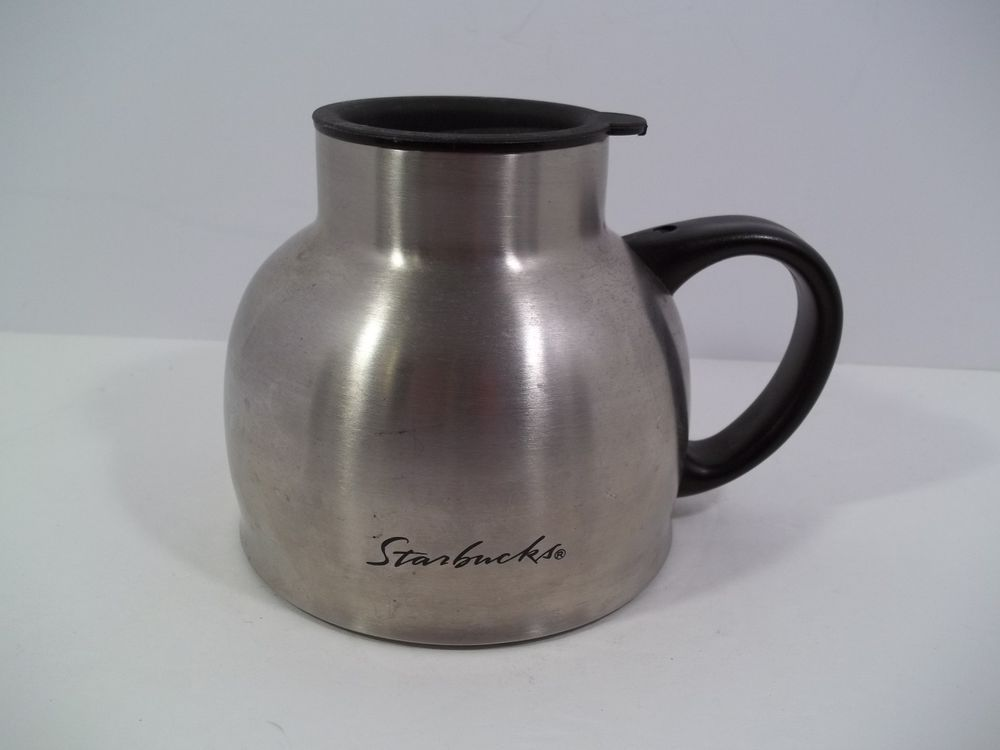 Interesting Starbucks stainless steel chubby mug remarkable, very