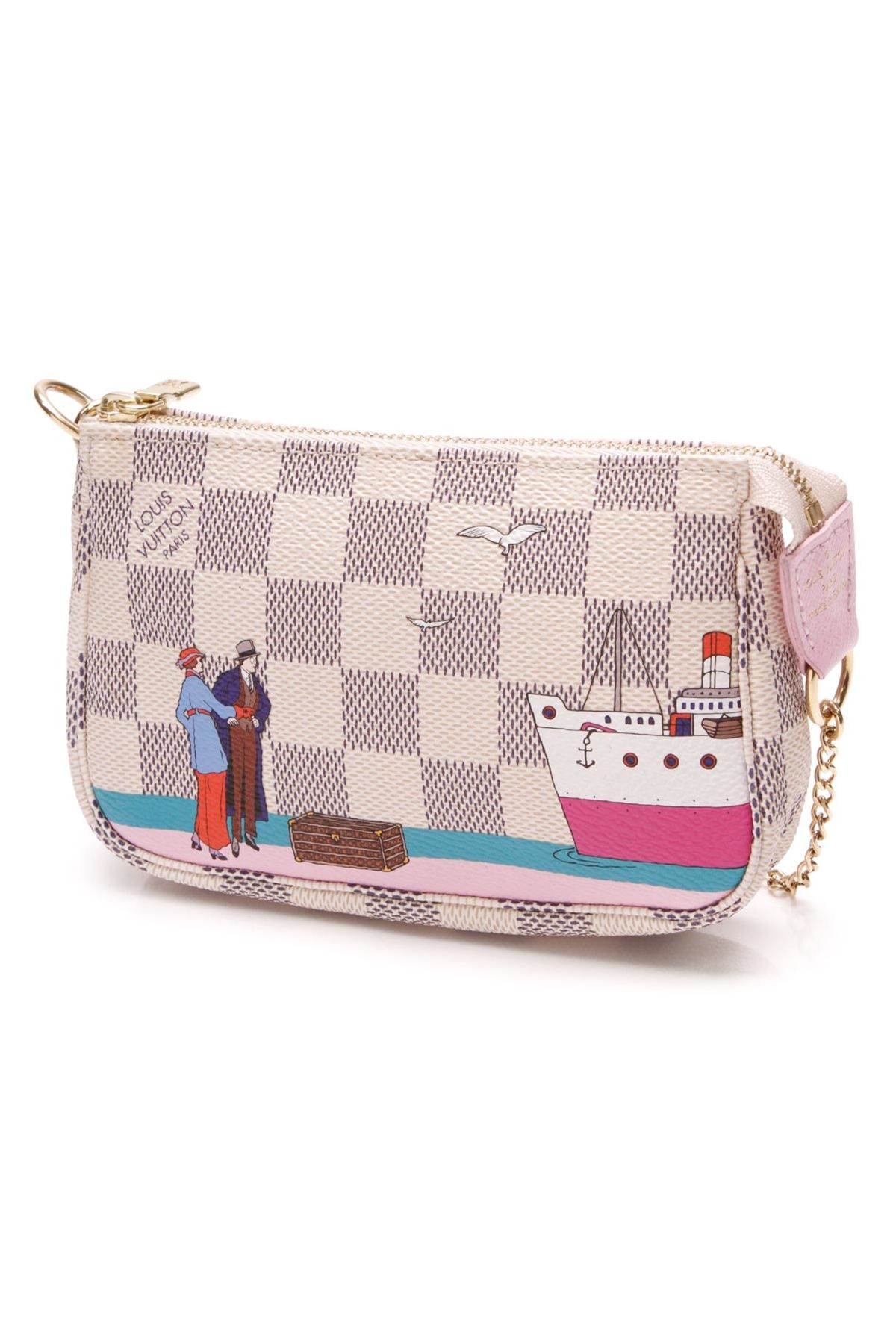 8280d63af876 Carry those small necessities in style with this authentic Louis Vuitton  limited edition Illustre Transatlantic Mini