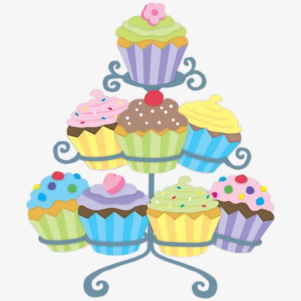 من ناحية رسم الكب كيك Clip Art Cupcake Art Colorful Drawings