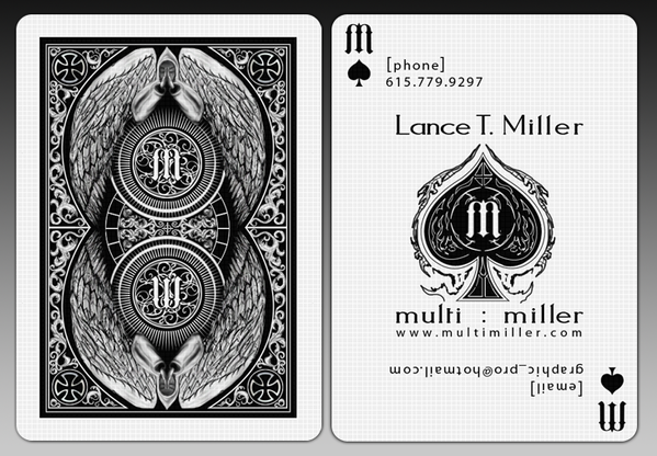 Multimiller business card playing card printed on casino quality multimiller business card playing card printed on casino quality linen card stock with full colourmoves Image collections
