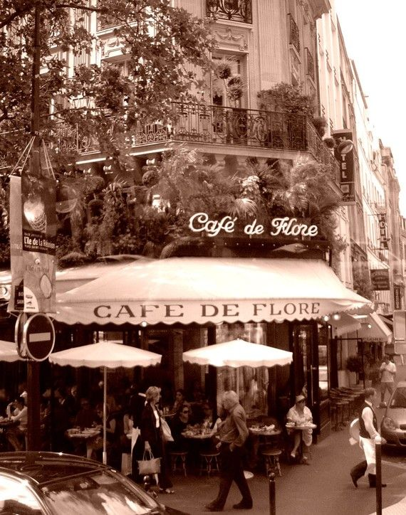 Paris Coffee Cafe! I bet the Bedells are with us inside!!