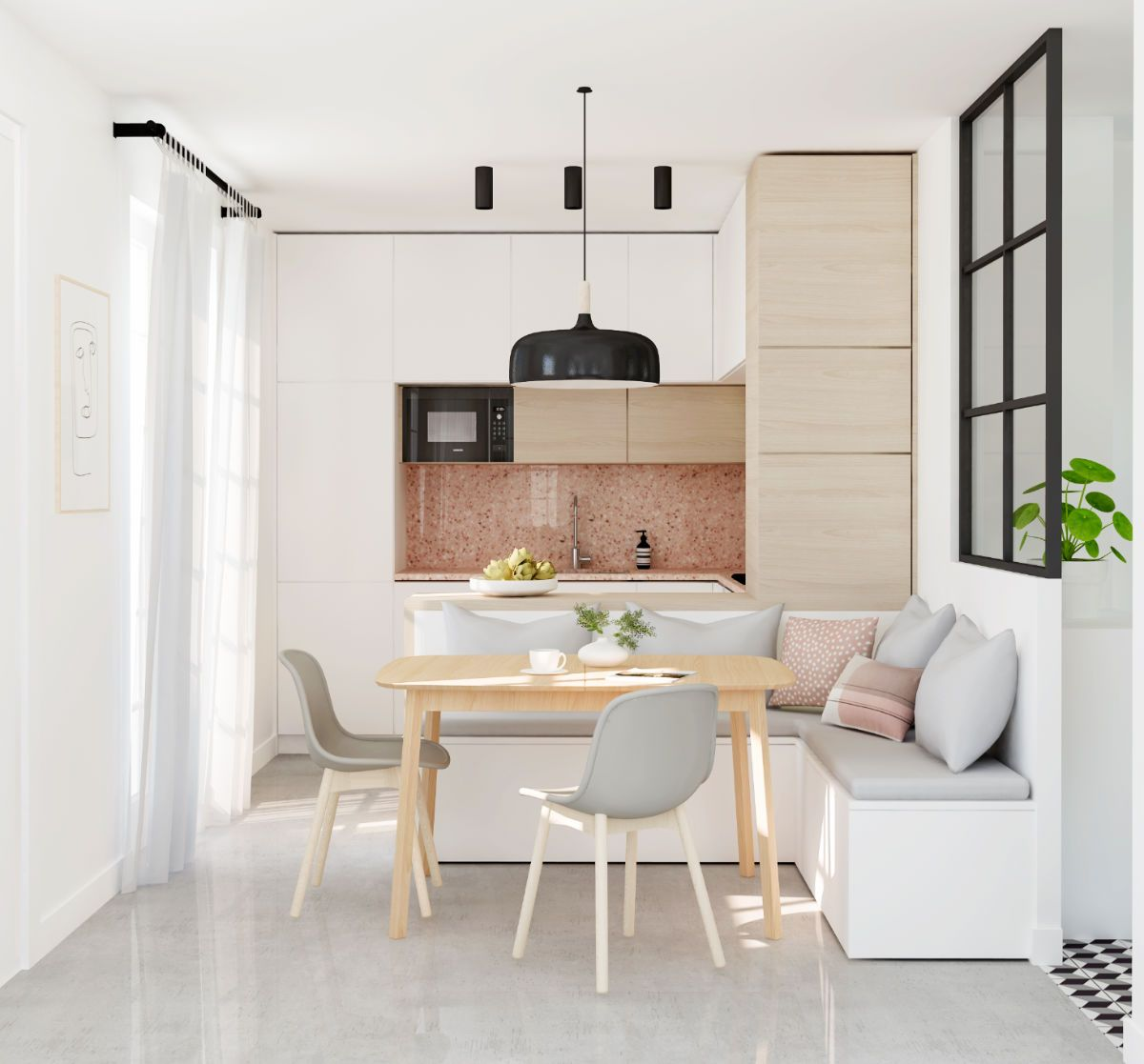 Http home designing pink kitchen also inspirational kitchens with tips  accessories to help you rh pinterest