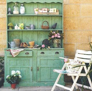 Rustic Pleasures - Brabourne Farm... I LOVE THIS CANT WAIT TO HAVE MY OWN HOME TO DECORATE!!! CLASSIC OLD PIECES