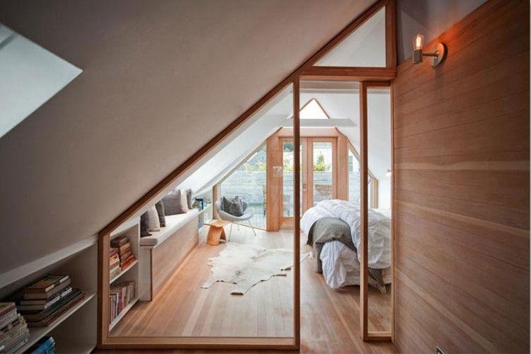 Stunning Victorian House Renovation In San Francisco By Mork Ulnes Design Attic Rooms Attic Flooring Attic Renovation