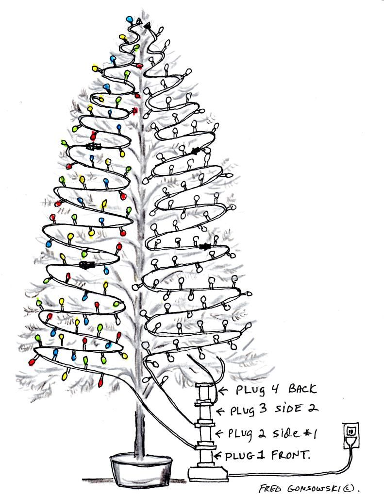 How To Light A Tree Christmas Tree Lighting Christmas Crafts Christmas Decorations