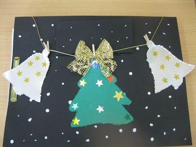 Resultat d 39 imatges de postal nadal infantil arbre nadal - Postal navidena infantil ...