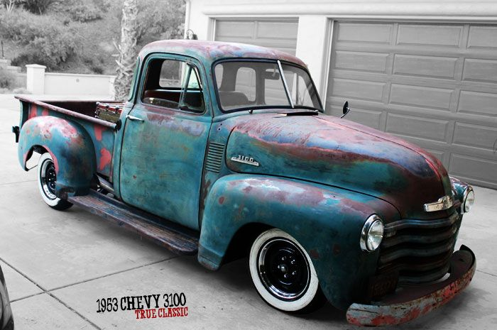 1953 chevy 3100 at the top of my christmas list i actually like it better rusty than. Black Bedroom Furniture Sets. Home Design Ideas