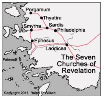 The Churches Of Turkey Where Are They Revelation Book Of