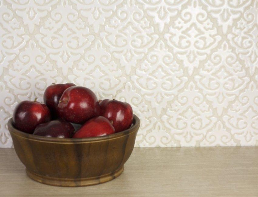 Kitchen Tiles Fruit Design damask handmade tile | kitchen backsplash, designs. and damasks