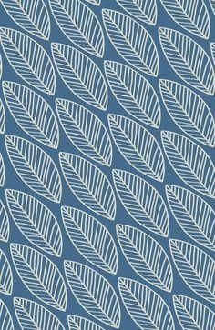 blue leaf #pattern