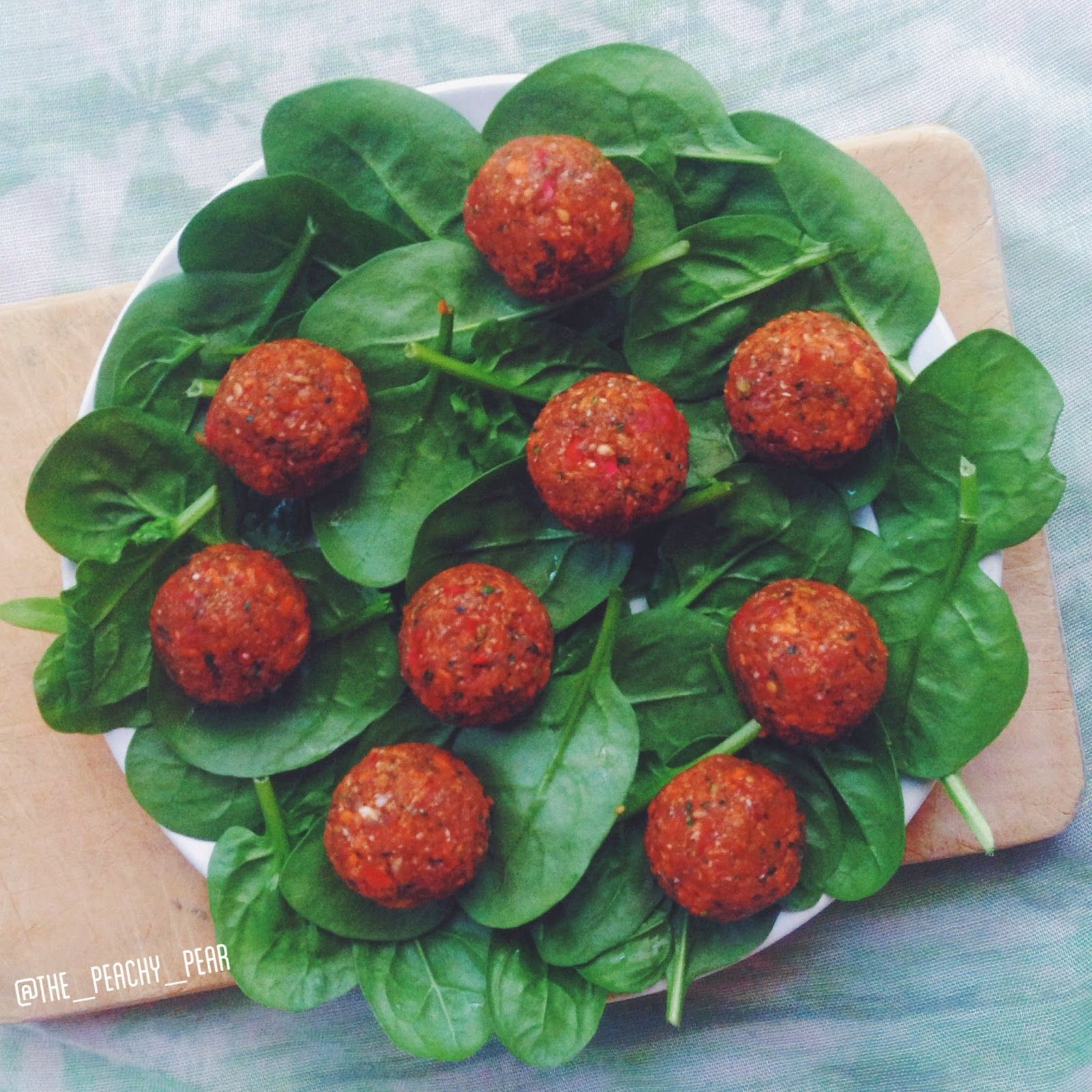 The Peachy Pear: Veggieballs