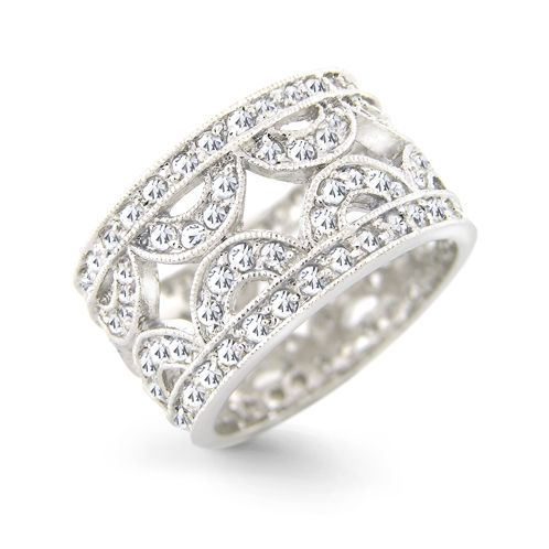 Awesome sterling silver wedding rings x Washington DC Weddings