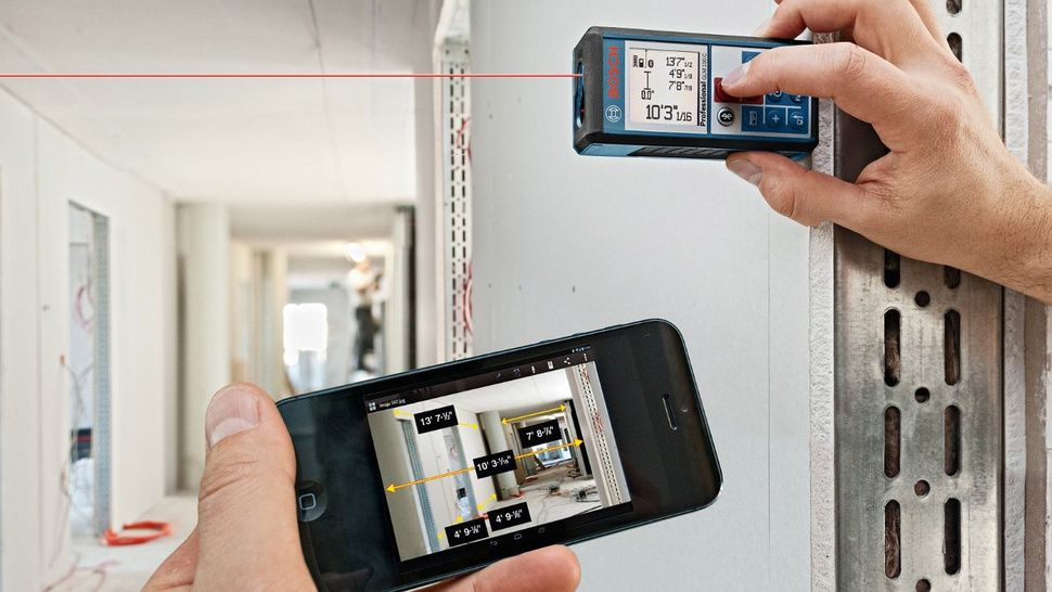 An AppConnected Laser Tape Measure Will Never Mistake
